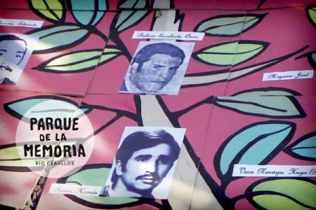 Folletos y banners Parque de la Memoria Río Ceballos