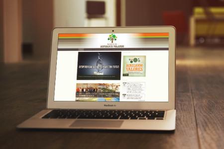 Diseño web Fundación Humberto Volando
