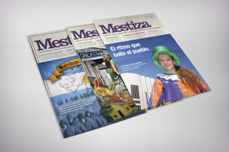 Revista Mestiza • Diseño editorial